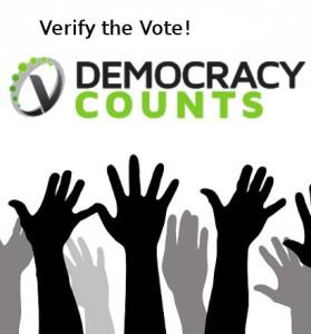 Verifythevote with hands